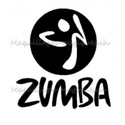 Tatouage temporaire - tatouage éphémère logo Zumba