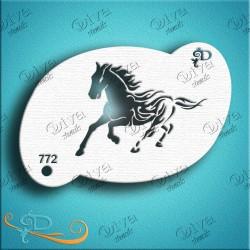 Diva stencils wild horse 00772 maquillages magiques