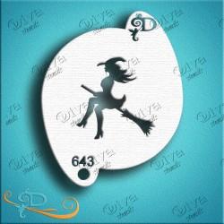 diva stencils witch pochoir sorciere maquillage aerographe maquillages magiques