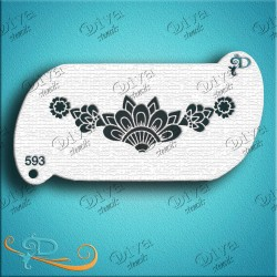 diva stencils henna band pochoir maquillage aerographe maquillages magiques