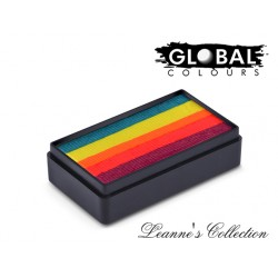 Island Girl maquillage à l'eau multicolore Fun Stroke Global Colours