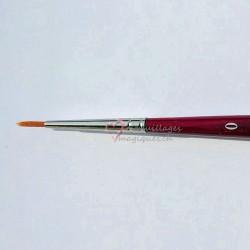 Pinceau grimage N°0 DA VINCI Cosmotop-spin série 5580 synthétique