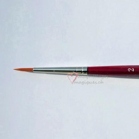 Pinceau grimage N°2 DA VINCI Cosmotop-spin série 5580 synthétique