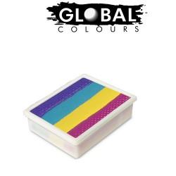 Global Colours Ibiza 10g recharge fun stroke palette