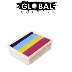 Global Colours Leanne's Rainbow 10g recharge fun stroke palette