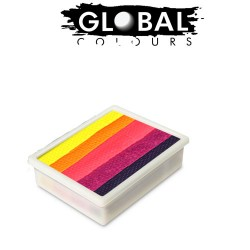 Global Colours Leanne's Nirvana Neon 10g recharge fun stroke palette