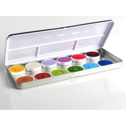 Maquillage enfant palette 12 fards à eau Animal - Fairy Tales Superstar