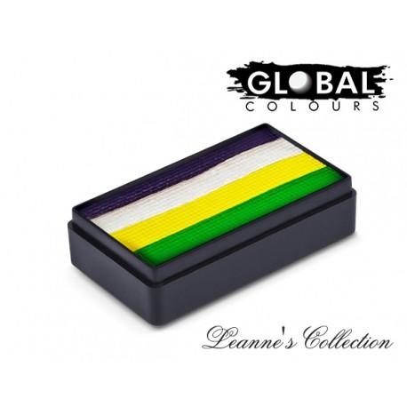 Leanne's Purple Pixie Fun Stroke Global Colours couleurs multicolores