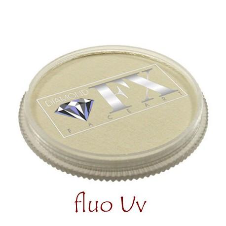 Diamond FX Blanc fluo maquillage à l'eau couleur UV Neon Fluorescente