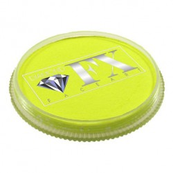Diamond FX jaune fluo maquillage à l'eau couleur UV Neon Fluorescente