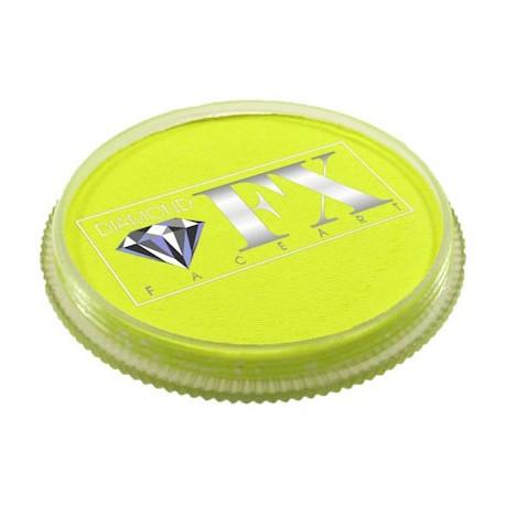 Diamond FX jaune fluo maquillage à l'eau couleur UV Neon Fluorescente