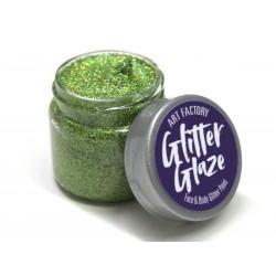 Paillettes pour le corps gel pailleté Glitter Glaze Art Factory GREEN