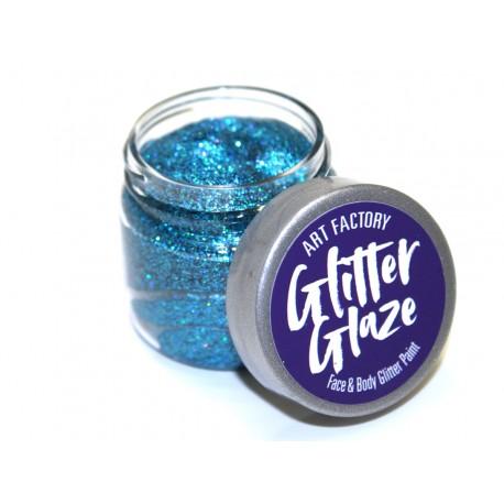 Paillettes pour le corps gel pailleté Glitter Glaze Art Factory BLUE