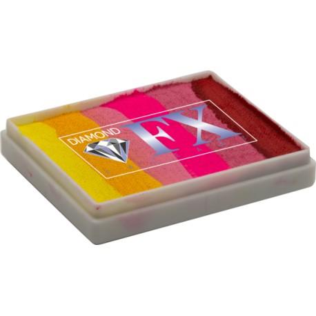Diamond DFX Splitcake Rainbow 50g maquillage à l'eau