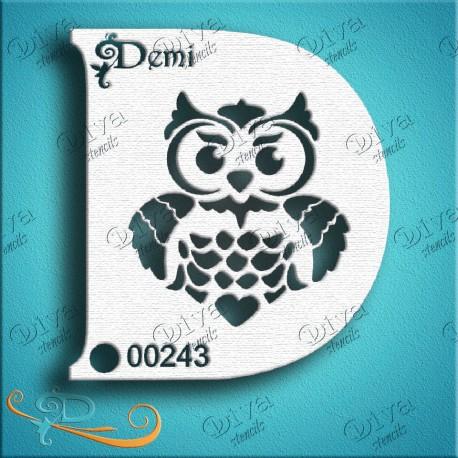 Diva Owl 2  Diva designs maquillages magiques 243