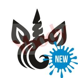 """Tatouage temporaire - tatouage éphémère """"Unique Unicorn"""" licorne"""