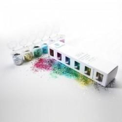 Chunky paillettes glitter Bio Mix 6 pack