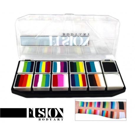 Rainbow Explosion Palette maquillage de fête FUSION