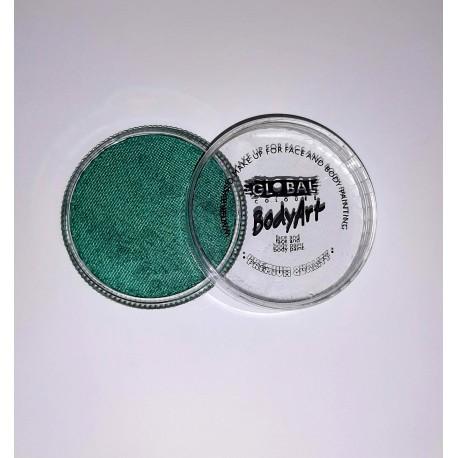 Maquillage à eau Global Colours PEARL GREEN 32g couleur nacrée