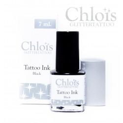 Chloïs encre noire de tatouage temporaire 7ml
