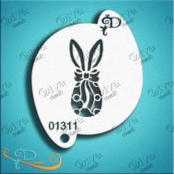 Pochoir de Pâques Bunny Egg de Diva Stencils