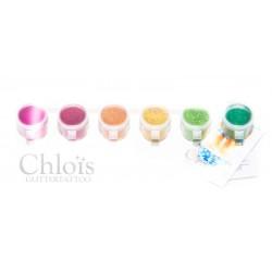 Assortiment de paillettes Chloïs Glitter Combipack Warm