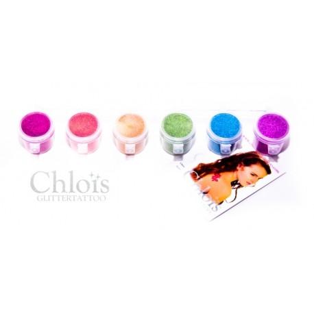 Assortiment de paillettes Chloïs Glitter Combipack Fancy