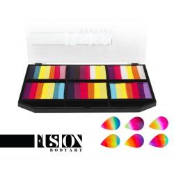 Leanne's Vivid Rainbow - Petal Palette fx Fusion
