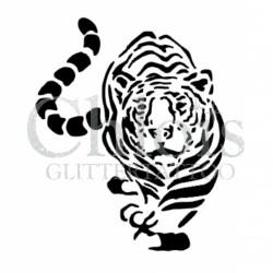 Tigre fier n°1005 pochoir pour tatouage temporaire