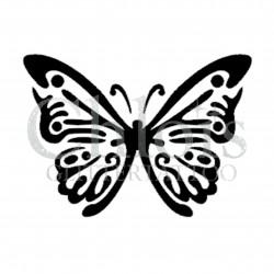Papillon Linda n°2009 pochoir pour tatouage temporaire