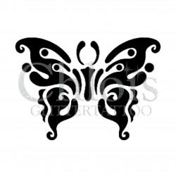 Papillon Dani n°2010 pochoir pour tatouage temporaire