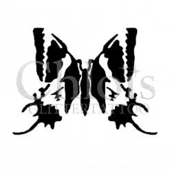Papillon n°2011 pochoir pour tatouage temporaire