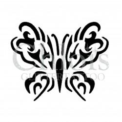 Papillon Esther n°2013 pochoir pour tatouage temporaire