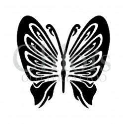 Papillon Saskia n°2015 pochoir pour tatouage temporaire