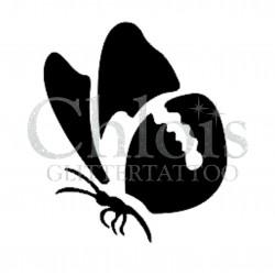 Papillon Steffie n°2018 pochoir pour tatouage temporaire