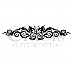 Papillon Bracelet n°2019 pochoir pour tatouage temporaire
