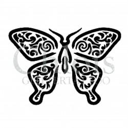 Papillon Willy n°2020 pochoir pour tatouage temporaire