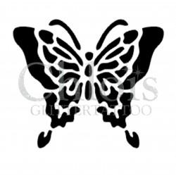 Papillon Demi n°2021 pochoir pour tatouage temporaire