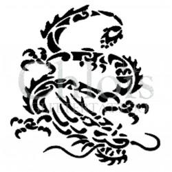 Dragon Chinois n°2500 tatouage temporaire