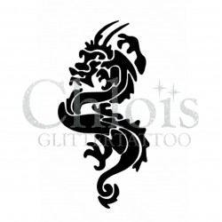 Dragon n°2502 tatouage temporaire