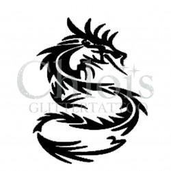 Dragon Plume n°2505 tatouage temporaire