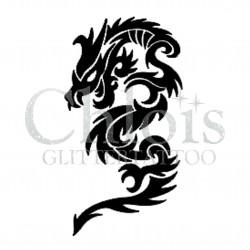 Dragon Agé n°2510 tatouage temporaire