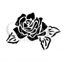Rose Diana n° 3003 pochoir pour tatouage temporaire