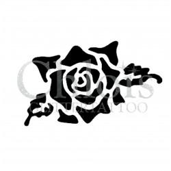 Rose Alex n° 3024 pochoir pour tatouage temporaire