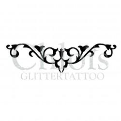 Fleur n° 3035 pochoir pour tatouage temporaire