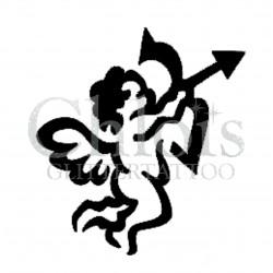 Cupidon n°3503 pochoir pour tatouage temporaire