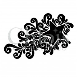 Etoile n°4000 - pochoir tatouage éphémère