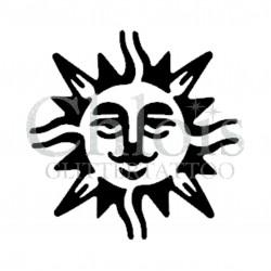 Soleil n°4018 - pochoir tatouage éphémère