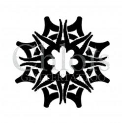 Mandala n°4020 - pochoir tatouage éphémère