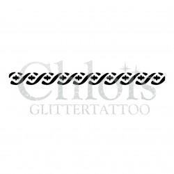 Bracelet à croix n°4022 - pochoir tatouage éphémère